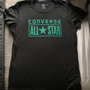 NWOT Women's Converse AllStar Short Sleeve Shirt